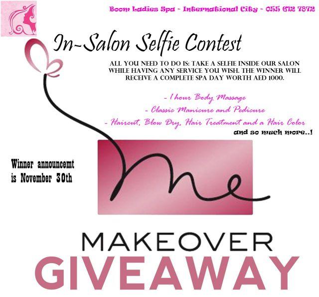 makeover essentials giveaway 2