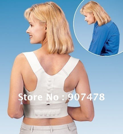 Free-Shipping-120pcs-lot-Magnetic-Back-Support-As-Seen-On-TV-Power-Magnetic-Postural-Correction-Belt